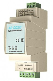 AE-0030 -  optoizolator - regenerator magistrali  RS485